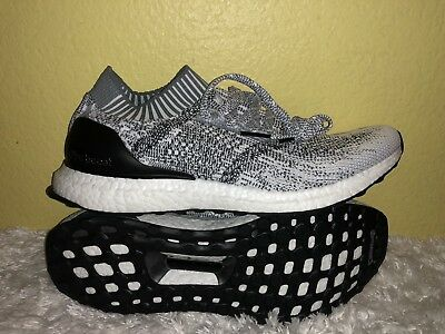 2dcc63c8cee2 Men s Adidas Ultra Boost Uncaged Running Shoes CG4095 Sz 10.5 Cloud White    Grey