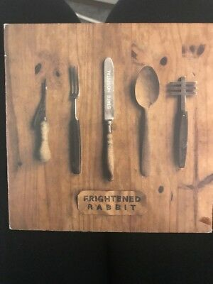 Original Signed Frightened Rabbit State Hospital Ep Cd Collectable Frabbit