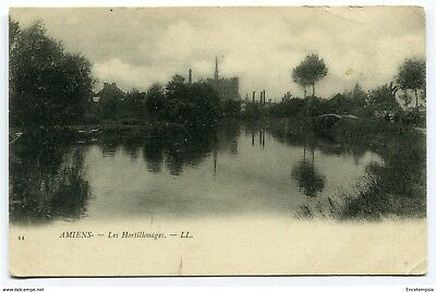 CPA-Carte postale- France -Amiens - Hortillonages - 1902 (CP3768)