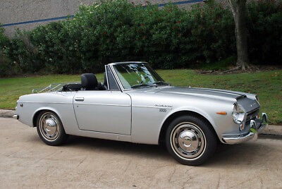 1969 Datsun 1600 Convertible From Southern California Ready for Top Down Fun