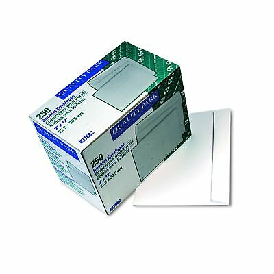 Quality Park 37682 Open Side Booklet Envelope, 9 x 12, White (Box of 250)