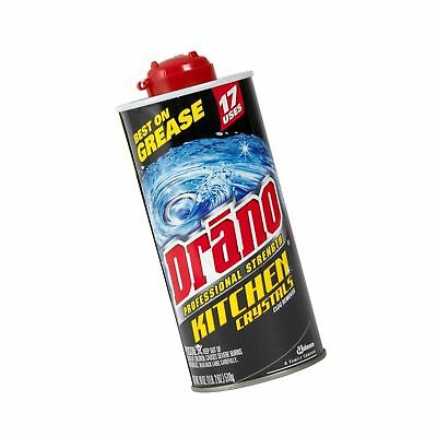 Drano Professional Strength Kitchen Crystals Clog Remover, Case Pack, Six - 1...