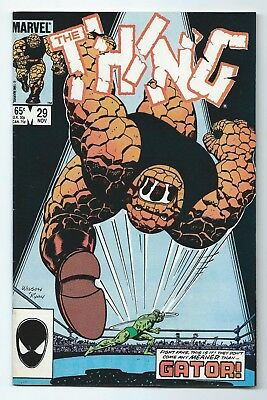THE THING #29  MARVEL 1985 High Grade