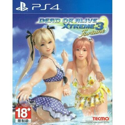 Dead or Alive Xtreme 3 PS4 English Subtitles