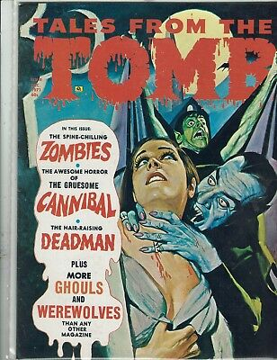 Tales From The Tomb December 1971  Eerie Publications Nm-
