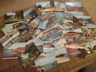 A Collection Of Approx 30 Vintage Uk Postcards- 1950S/60S
