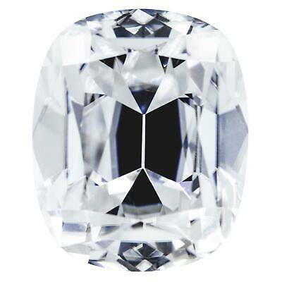 CRUSHED ICE ELONGATED Cushion First Crush FAB Moissanite