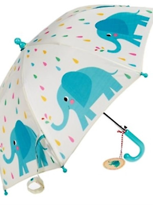 Elvis elephant animal childrens umbrella boys girls school brolly nursery gift