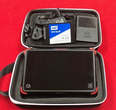 Atomos Ninja Flame + WD 500GB Blue Solid State Drive + Accessories HDR