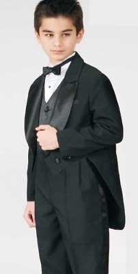 Tuxedo With Tail For Kids 5pcs Package Set Forma Wedding Special Occasion