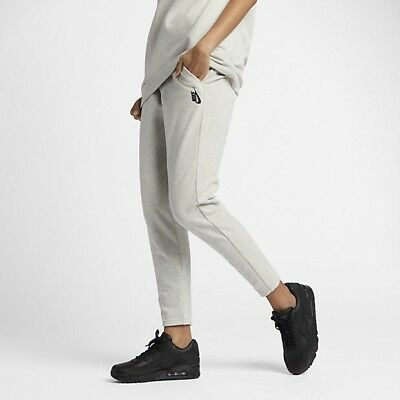 63265df436 NikeLab Essentials Fleece Pants Grey Heather Black Womens Sz Small 865640  050