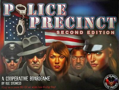 Police Precinct 2nd Edition | Common Man Games - New Game