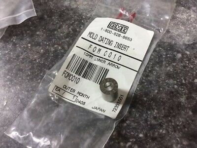 DME MOLD Date/ Month INSERT 10mm, # FOM0010, 1-12 For Month