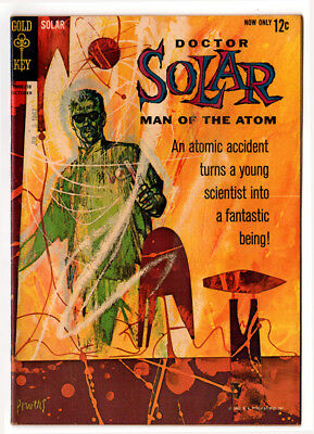 Doctor Solar Man Of The Atom #1 (F/vf)