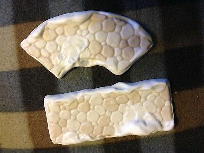 Precious Moments Sugar Town 1994 Sidewalk 2 Pieces Curved And Straight No Box