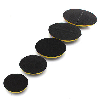 Buffing Loop Hook Polisher Plate Auto M14 Pad Car Kit Rubber Backing Grinder