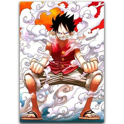 One Piece Monkey D Luffy Poster Popular Classic Japanese Anime Poster