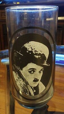 Charlie Chaplin Arby's Collector's Series 1979 Glass Bubbles Inc 1 of 6
