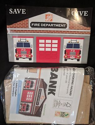 Home Depot Kids Workshop Firehouse Bank with Pin