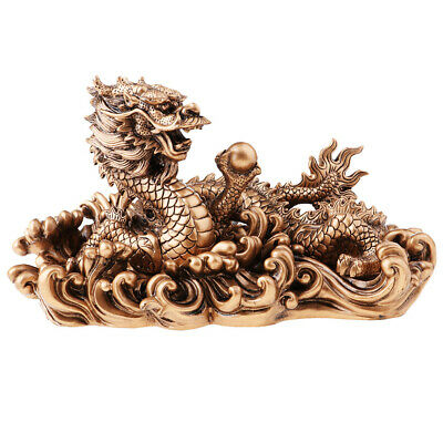 Resin Dragon Model Home Decoration Accessories Arts and Craft Collectibles