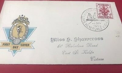 1956 Melbourne Olympics first day covers Nice Condition Rowing Stamp