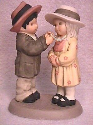 """NEW  """"LOVE IS KIND"""" Kim Anderson Figurine 629693 dated 1999 Pretty As A Picture"""