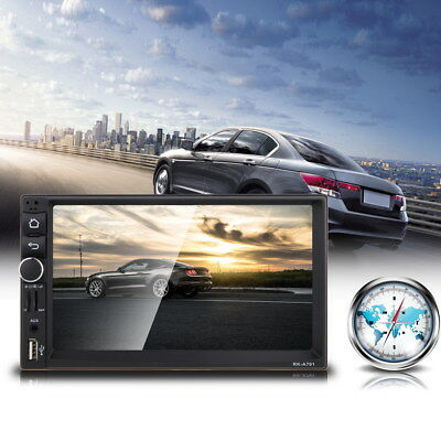 2 Din In-Dash CAR  MP5 Player Auto Radio Quad Core Android 4.4 GPS Bluetooth