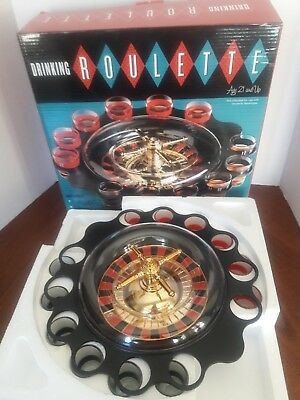 Drinking Game Glass Roulette - Drinking Game Set (2 Balls and 16 Glasses) Casino