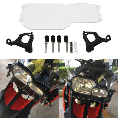Clear Motorcycle Headlight Guard Bug Tar Protector For BMW F800GS F700GS F650GS