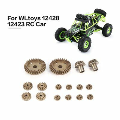 12 24 30T Diff.Main Metal Gear Repair Parts for WLtoys 12428 12423 1/12 RC CarHH