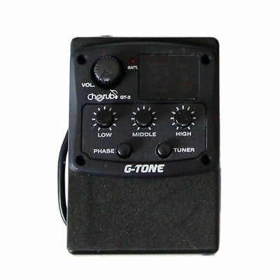 NEW Cherub GT-2 G-Tone 3 Band EQ with Chromatic Tuner and Phase Effect