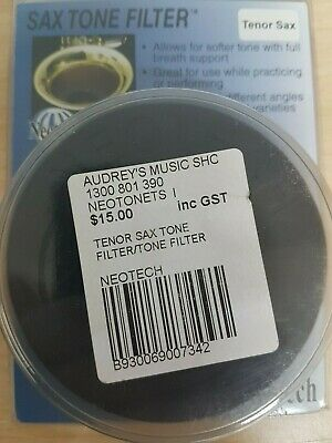 BRAND NEW IN BOX Neotech 3201012 Alto Saxophone Tone Filter Mute