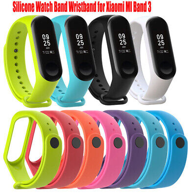 For Xiaomi Mi 3 Replacement Smart Watch Bracelet Band Strap Silicon Wristband