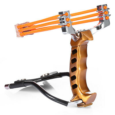 Compact Aluminum Alloy Wrist Slingshot with Magnet for Outdoor Hunting Training