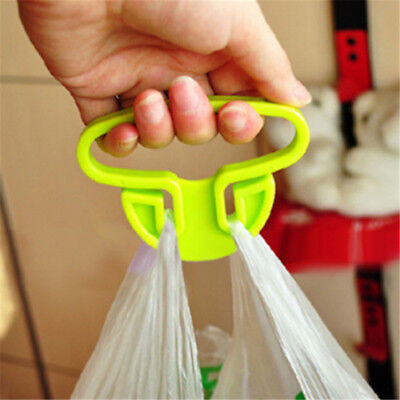 Hot Women Creative Home Random Plastic Shopping Bag Carrying Lifting Device