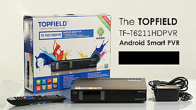 Topfield TF-T6211 Android smart personal video recorder - 500GB