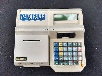 Bus Ticket Machine Driver Console Datafare 2000 Brisbane Translink Queensland
