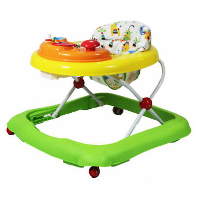Red Kite Baby Walker Musical Electronic Play Tray Adjustable Height Jive Jungle&