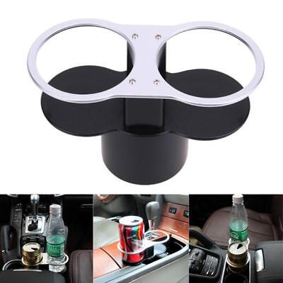 Universal Car Van Drinking Water Bottle Can Cup Mug Stand 2 Holder Clip Mount!