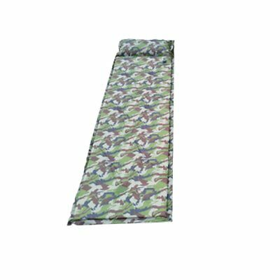 Seif-Inflatable Outdoor Camping Picnic Automatic Sleeping Mat With Pillow DOWN
