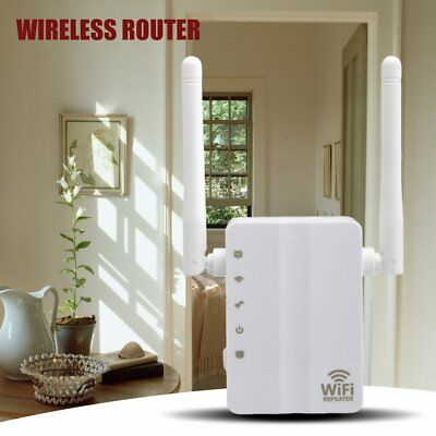 300Mbps Wireless-N Range Extender WiFi Repeater Signal Booster Network Router SQ