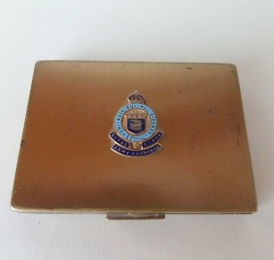 Vintage Sweetheart VOGUE  Powder Compact Royal Corp Army Ordnance