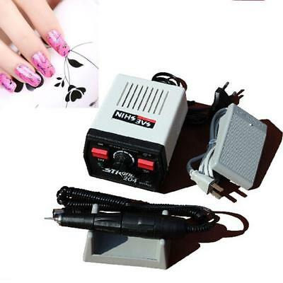 6 pcs Electric Nail Polisher File Drill Pen Manicure Pedicure Machine_!