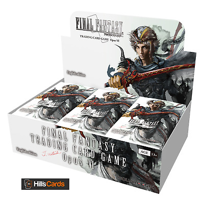Final Fantasy TCG Opus VI Sealed Booster Box of 36 Packs - Trading Card Game 6