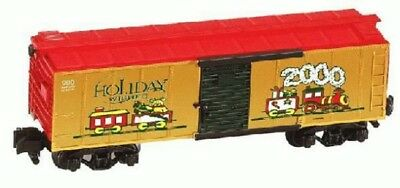 American Flyer S Gauge Af 2000 Christmas Holiday Box Car 6-48340 Mint In Box