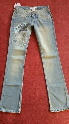 Fancy Collection Jeans Size 24 Bootcut, Inseam 31 inch
