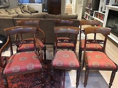 Antique Dining Chairs English Regency style