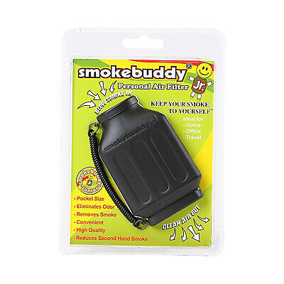 SMOKE BUDDY PERSONAL AIR FILTER Smoking Purifier Cleaner Home Office Black
