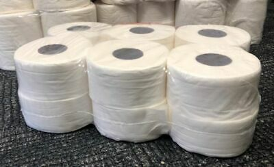 12 x Mini Jumbo Toilet Tissue Rolls  2PLY | 2.25'' core.