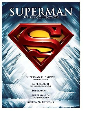 Superman: The Motion Picture Anthology 1978-2006 Five Film Collection DVD